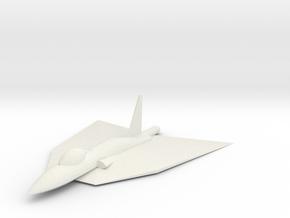 The Ferg Fighter in White Natural Versatile Plastic