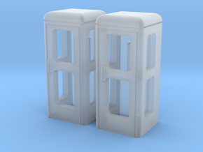 "Spur N 2x Telefonzelle ""Telh78"" in Smooth Fine Detail Plastic"