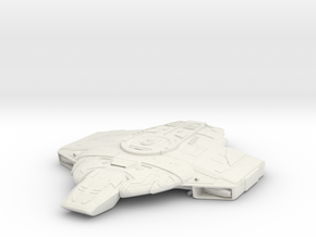 Defiant Class Refit V  ScoutDestroyer in White Natural Versatile Plastic