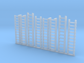 Ladders for miniature games in Smooth Fine Detail Plastic