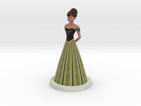 Anna (Frozen) in Full Color Sandstone