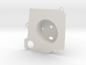 """Road Chicken"" Muscle Car Dash Tachometer - PART 2 in White Natural Versatile Plastic"