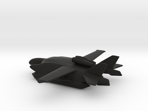 Beriev VVA-14 1M (Inflatable Pontoons) in Black Strong & Flexible: 1:400