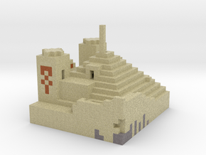 Minecraft Desert Temple  in Full Color Sandstone