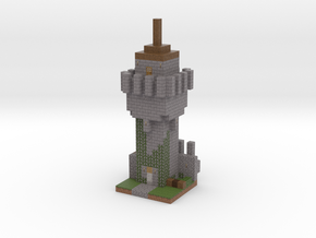 Minecraft Godes Tower in Full Color Sandstone