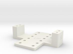 Hololens Bottom Plate in White Natural Versatile Plastic
