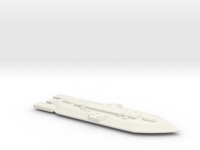 3788 Scale Frax Dreadnought (DN) MGL in White Natural Versatile Plastic