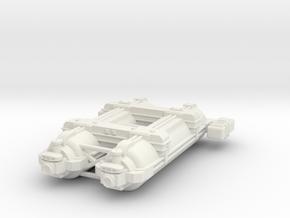 Omni Scale WYN Auxiliary Battlecruiser (AuxBC) SRZ in White Natural Versatile Plastic
