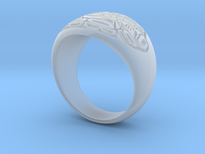 Sea Monster Ring  in Smoothest Fine Detail Plastic: 10 / 61.5