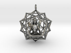 Solar Angel Starship 38mm in Polished Silver