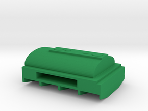 1/87 Scale M50 Water Tank Bed in Green Strong & Flexible Polished