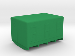 1/87 Scale M109 VAN Bed in Green Strong & Flexible Polished