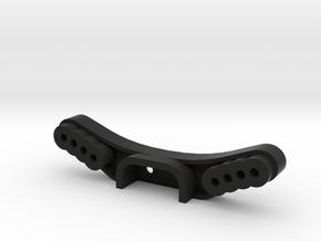 Tamiya M04 Wide Front Shocktower in Black Natural Versatile Plastic