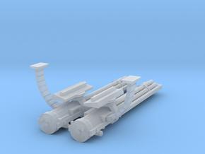 Flyer Gathling guns kit in Frosted Ultra Detail