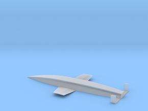 Silverbird - Amerika Bomber in Smooth Fine Detail Plastic