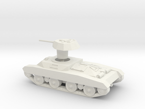1/72 Carro Celere Sahariano in White Natural Versatile Plastic