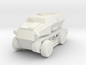 1/87 SdKfz.254 in White Natural Versatile Plastic
