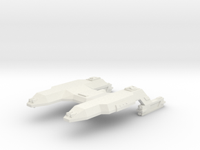 3788 Scale Lyran Tiger Heavy Cruiser (CA) CVN in White Natural Versatile Plastic