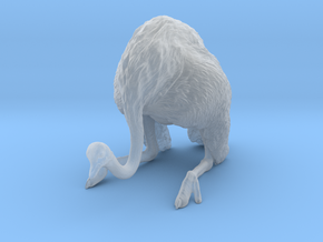 Ostrich 1:22 Guarding the Nest in Smooth Fine Detail Plastic