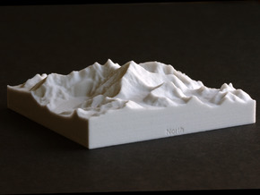 4''/10cm Mt. Everest, China/Tibet, Sandstone in Natural Sandstone