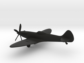 Supermarine Spitfire FR Mk.XIV in Black Strong & Flexible: 1:144