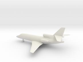 Dassault Falcon 50 in White Natural Versatile Plastic: 1:200