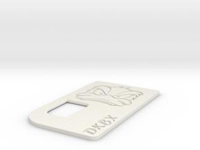 #DAKKBOXX_DOOR in White Natural Versatile Plastic