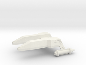 3788 Scale Lyran Leopard Destroyer (DD) CVN in White Natural Versatile Plastic