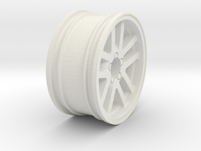 HPI SS CAMARO RIM 6mm V2.0 in White Natural Versatile Plastic