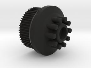 Kegel Wheel Hack for Boosted Board V2 in Black Natural Versatile Plastic