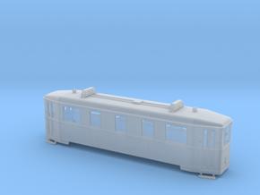 HAWA Triebwagen Spur  H0f (1:87) in Smooth Fine Detail Plastic