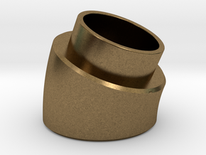 22.5 Deg Elbow in Natural Bronze