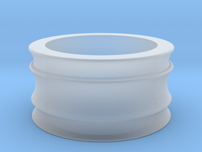 Female Adapter in Smooth Fine Detail Plastic