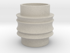 Male Adapter in Natural Sandstone