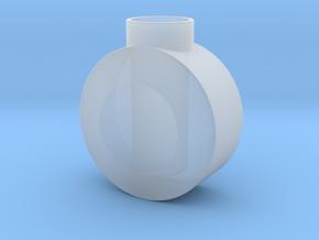 Round Pommel in Smooth Fine Detail Plastic