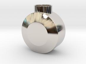 Round Pommel in Platinum