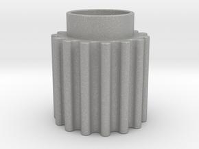 Round Tooth Gear in Aluminum