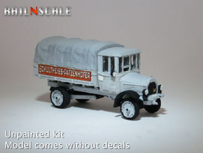 Daimler DR4-5d Marienfelde (N 1:160) in Smooth Fine Detail Plastic