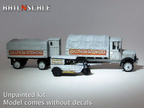 Super set 'Schultheiss-Patzenhofer' (N 1:160) in Smooth Fine Detail Plastic