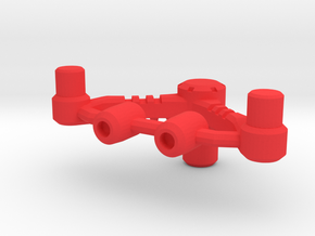 Energy bow adaptor for MMC Calidus, Bow in Red Processed Versatile Plastic