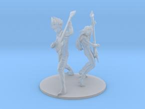1/48 Basara_and_Mylene in Smoothest Fine Detail Plastic
