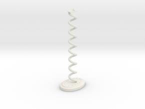 Pyramidenkogel Tower (part 2 of 4) in White Natural Versatile Plastic