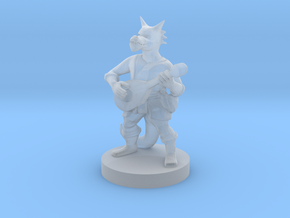 Kobold Bard in Smooth Fine Detail Plastic