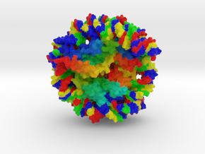 Nucleosome in Full Color Sandstone