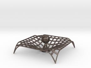 Gravity single body wire Metal Version in Polished Bronzed Silver Steel