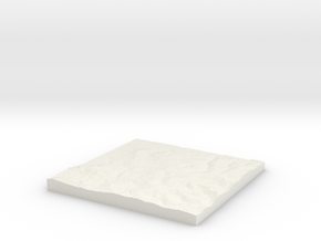 Potters Bar W520 S200 E530 N210 in White Natural Versatile Plastic