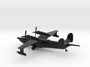 Beriev Be-12 Chayka (Landing Gear) in Black Hi-Def Acrylate: 6mm