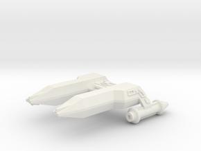 3125 Scale LDR Frigate (FF) CVN in White Natural Versatile Plastic