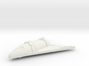 3125 Scale Hydran Hunter Frigate GLP in White Natural Versatile Plastic