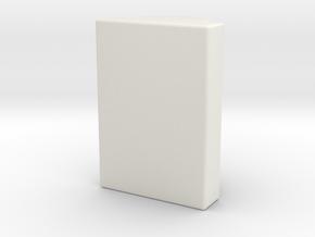 AA chamber nub 4mm in White Natural Versatile Plastic
